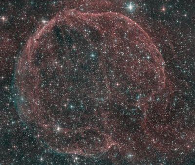 LBN 576 (Abell 85) - астрофотография