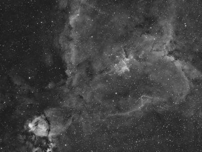 IC 1805 - астрофотография