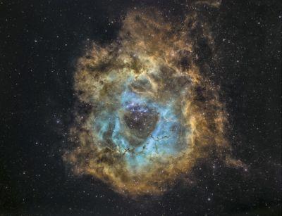 NGC 2239 - астрофотография