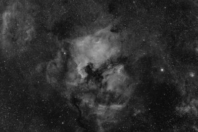 CYGNUS NEBULA COMPLEX IN HA - астрофотография
