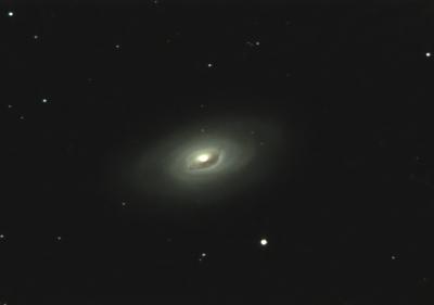 M64 Чёрный глаз - астрофотография