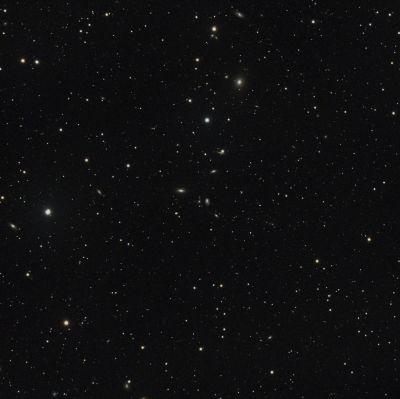 NGC4277 и окрестности - астрофотография