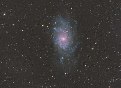 М33 - астрофотография