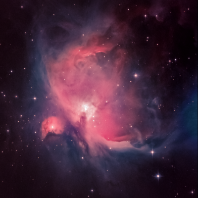 Great Orion Nebula (M42), M43 - астрофотография