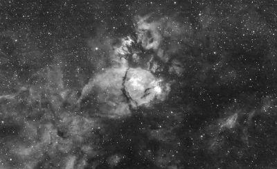 IC-1795. Туманность Голова рыбы - астрофотография