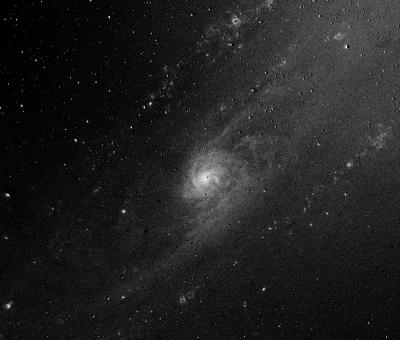 Ядро Галактики Андромеды, М31,  Ha - B - астрофотография