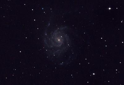 M 101 - Galaxy Pinwheel - астрофотография