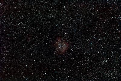 Rosette Nebula - астрофотография
