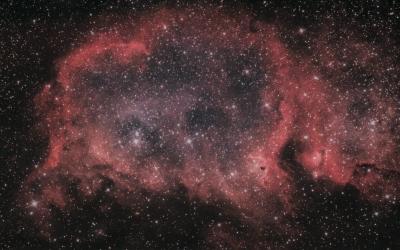 """Эмиссионная туманность IC1848 """"Душа"""" - астрофотография"""