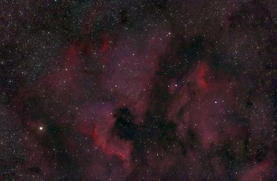 Северная Америка  - астрофотография