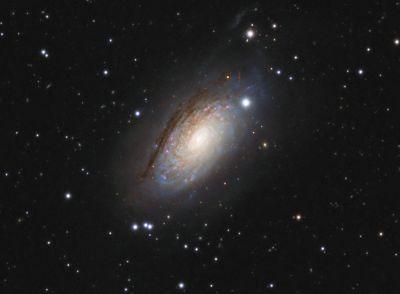 M63 Sunflower - астрофотография