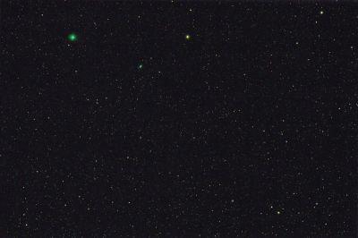 комета C/2018 Y1 (Ивамото) - астрофотография