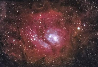 М 8-туманность  Лагуна( 01-02.07.2019г) - астрофотография