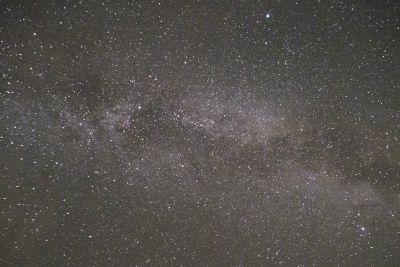 Звездный пейзаж  - астрофотография