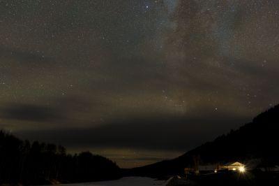 CLOUDY NIGHT - астрофотография