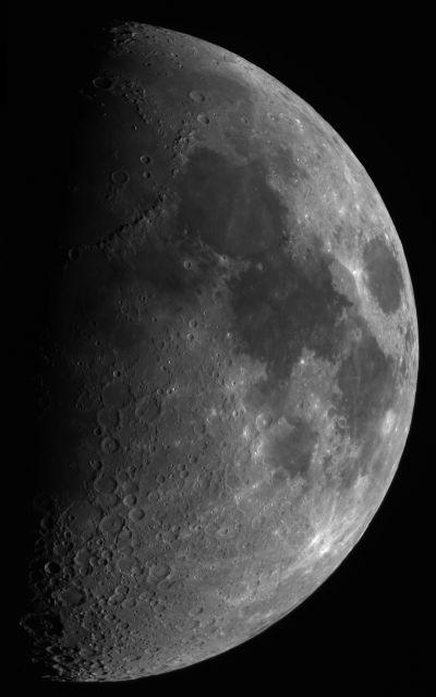The First Quater 2014-08-04 - астрофотография