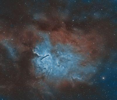 NGC 6823 HOO - астрофотография