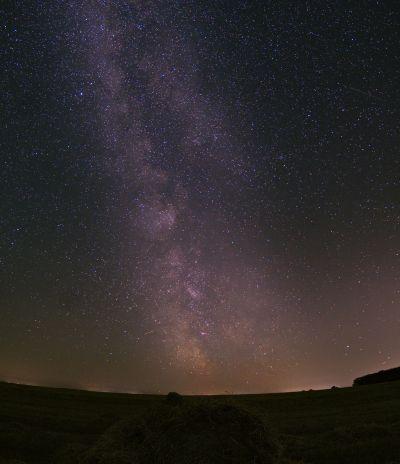 Млечный Путь в августе - астрофотография