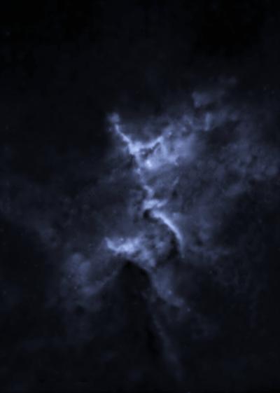 Starless Melotte 15 - астрофотография