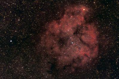 Туманность IC 1396 в Цефее - астрофотография