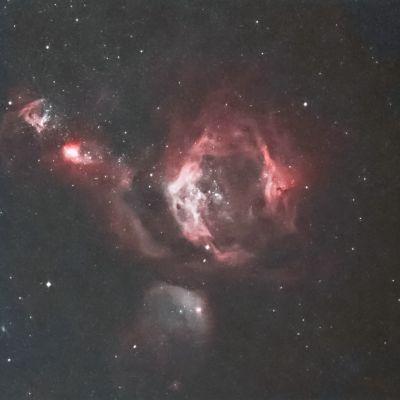 NGC 1955 - астрофотография