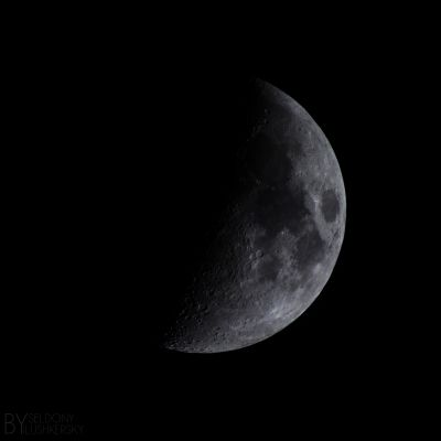 The Opposite Sides of the Moon - астрофотография