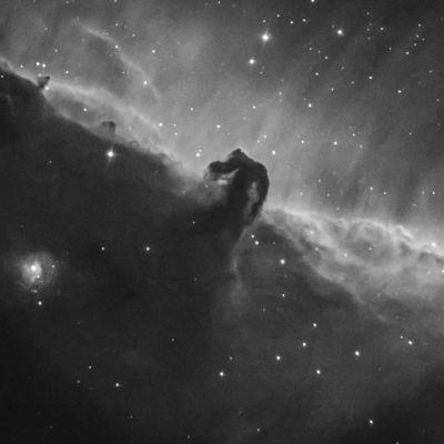 IC 434, Horsehead nebula - астрофотография