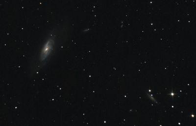 M106, NGC 4217 - астрофотография