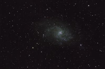 M33 - Галактика Треугольника - астрофотография