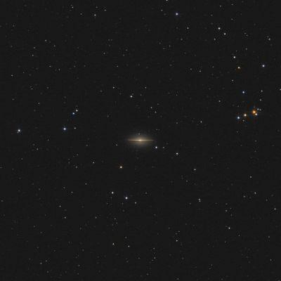 Sombrero Galaxy M104 - астрофотография