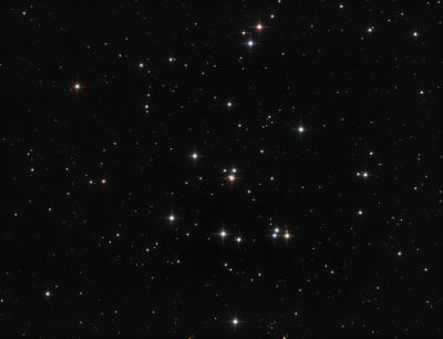 M44 Beehive Open Cluster - астрофотография