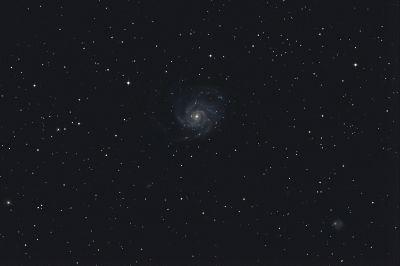 M101 Pinwheel galaxy - астрофотография