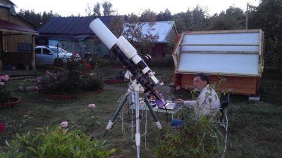Подготовка к съёмке на выезде - астрофотография