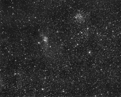 Nova star Cas 2021 - астрофотография