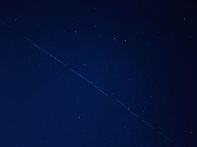 Starlink-24 - 08.05.2021 (3) - астрофотография
