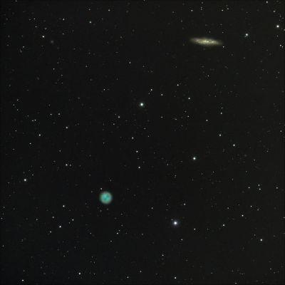 M97 и М108 - астрофотография