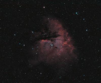 NGC281 - астрофотография