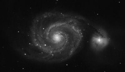 М51 - астрофотография