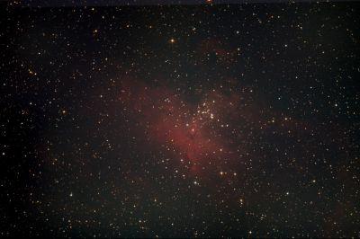 M16 - Туманность Орёл - астрофотография