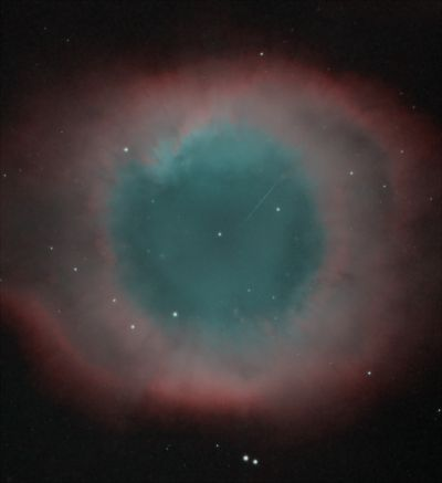 Helix Nebula (Central part) - астрофотография
