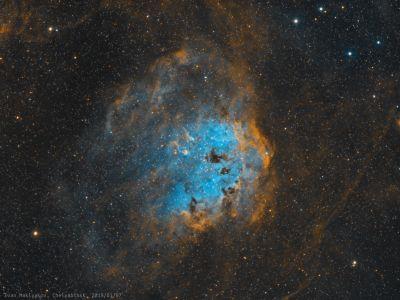 Туманность IC410. - астрофотография