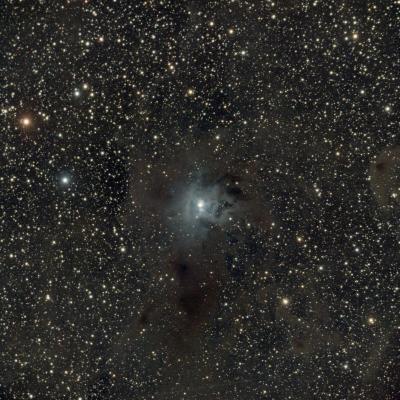 NGC 7023 (Ирис) - астрофотография