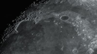 Луна 11.08.2019г. - астрофотография