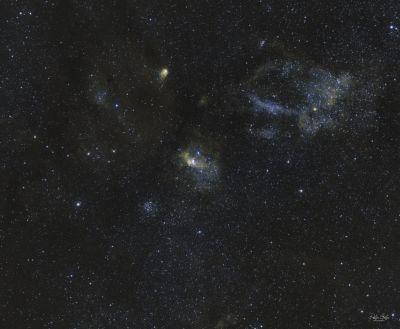 NGC 7635, The Bubble Nebula - астрофотография