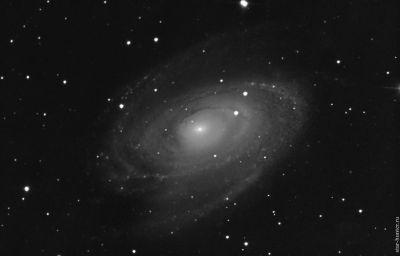 M81 galaxy, 31-03-2019 - астрофотография
