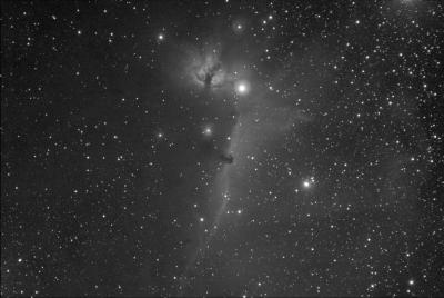 """Туманность """"Конская голова"""" IC434 - астрофотография"""