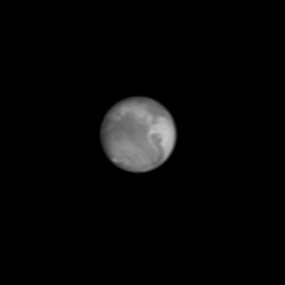 Марс от 25.10.2020 года. - астрофотография