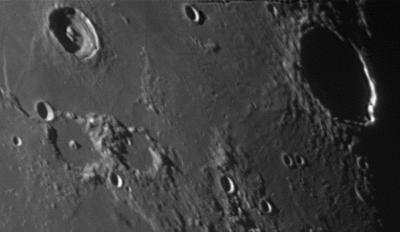 Кратеры Burg, Plana, Mason и Hercules - астрофотография