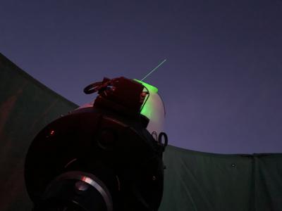 Laser Pointer - астрофотография