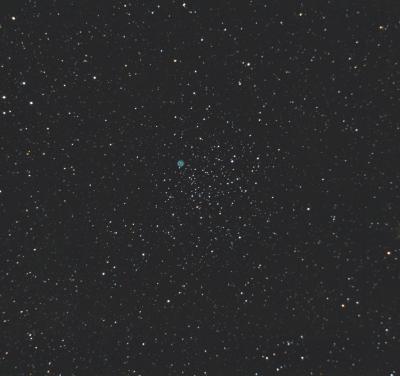 Рассеянное скопление M46 (Ngc 2437) - астрофотография